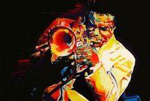Jazz & Blues  Gallery / Les parfumes, les couleurs et les sons, se reponds!