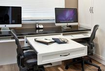 Office Setup / My favorite office space set ups. www.joespcandrepair.delaughter.org/electronic_best_sellers / by Joe's PC and Repair