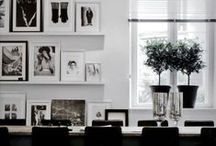 Monochrome / Sophisticated black and white home interiors not to be reckoned with