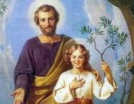 Sv. Jozef s Ježišom / Sv. Jozef ako nenahraditeľná osoba v Ježišovom živote.