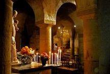 Churches&Chapels&Monasteries Interior Details / by Laura Alejandra
