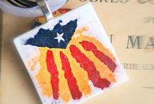 Catalunya Catalonia / Senyera, estelada i d'altres