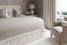 Serene bedroom spaces