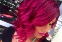 Farebné vlasy/Colorful hair