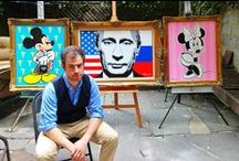 Steven Swancoat / OB/GYN by day, artist by night, Dr. Steven Swancoat is rapidly making a name for himself in the art world, including with his collector Vladimir Putin. We display the good doctor's art here.  This board showcases the creative chaos that is Casa Wynwood, a design collaboration space, gallery, and event venue in Miami's Wynwood Arts District. High-end art, home decor, fashion, luxury products and more.