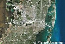 City / Check out PlanetObserver favorite satellite images of cities across the world. www.planetobserver.com
