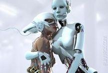 Lk_Cyberpunk / SheBot, Cyberpunk, Cyborgs, Sci-Fi Elements
