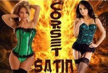 Satin Corset