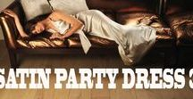 Satin Party Dress 3