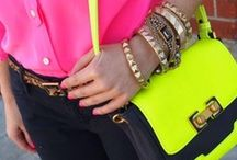 Fashion Trend: Neon / Let me introduce you to my favourite fashion trend of Spring/Summer 2015, it's NEON! Although, we are seeing bright colours everywhere these days, neon colours