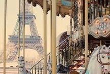 Summer nights in Paris / #summer #style #vintage #girl #flowers #dress #fashion #paris