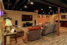 Finished Basement Ideas / Designs and Layouts for Finished Basements