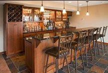 Basement Bar Areas / Basement Bars: Juice Bar, Whiskey Bar, Milkshake/Frappe Bar, you decide.