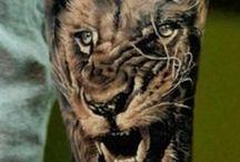 animal tattoos / animal tattoos