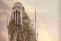 Fantasy Settings / Fantasy places, buildings, castles, etc.