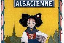 Alsace - Anciennes affiches