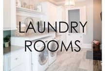 Laundry Rooms / Laundry Room layouts and laundry room decorating ideas. Laundry room decor.