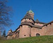 Alsace - Châteaux
