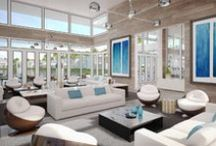 INTERIOR / Modern Doral is a monumental architectural achievement for the City of Doral. The clean lines and simple styling of the modern architecture differentiate this community from the traditional Doral neighborhoods.