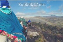 Bucket List Inspiration / Firstly - decide where you want to go! Plan the trip of your dreams using my specially tailored bucket lists >>> http://luxurybackpack.com/bucket-list/