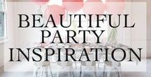 Entertaining/ Hosting Parties / Beautiful party inspiration. Party planning ideas! Theme ideas, tablescapes, and party decor ideas. Beautiful party decor.