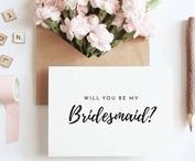 Wedding Gifts / Perfect shop for all wedding printables, bridesmaid proposals, bride to be gifts, bridesmaid cards, groomsman cards, gift ideas to ask someone to be your bridesmaid