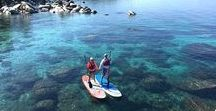 Tahoe Adventures / Get ready for adventure in Tahoe! From beach yoga, to snow mobiling, to biking, to golf, and more--there is an adventure for everyone in this beautiful region.