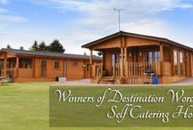 Romantic breaks / Forest View Retreat holiday log cabins in Worcestershire.
