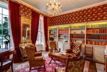 Castle Interiors / From elegant drawing rooms to our fabulous Bute Suite, Bellingham Castle is a stunning venue for your private event.