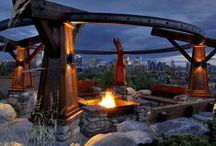 outdoor living / outdoor living areas, alfresco dining, exterior rooms, outdoor rooms, resort style living