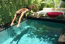 plunge pools / collection of plunge pools and smaller pools, small pools, private swimming pools