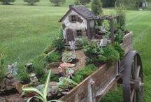 Fairy and Elf Gardens / gardening in miniature / by Ann Champion