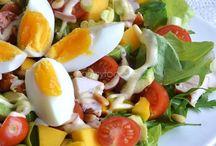 Eten l Salades en groenten / Eten l Salades en groenten