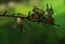 Fantasy Creatures / Fantasy creature inspiration for stories.