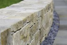 retaining walls / collection of retaining walls, retaining wall types, retaining wall materials