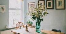 maisons de rêve / home interiors/inspiration