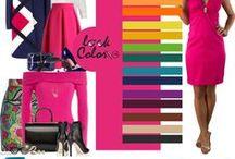 Сочетание розового цвета / Сочетание розового цвета в одежде и интерьере