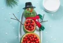 Christmas  / Festive, fun & full of goodness! Here are some great ways to cut sweets and chocolate out of Christmas while still giving children fun food to enjoy.  / by Children'sFoodTrust