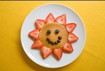 Breakfast food  / Breakfast is the most important meal of the day, especially for children. Here's some ideas to make it a meal time they won't want to miss!  / by Children'sFoodTrust