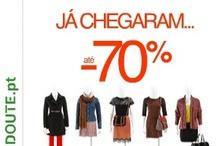 Promoções em vestuário e acessórios