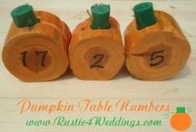 Fall / Fall Decorations and Ideas to get ready for Autumn time.
