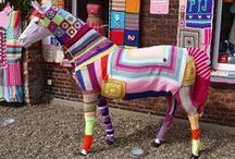 Yarn Bombing & Art / All things Yarn Bombing & Art / by Judi Neckritz