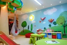 """Kid Zone / """"We must teach our children to dream with their eyes open."""" ― Harry Edwards <3   Decoration and design ideas for kids play areas, daycare centers and preschools.   Indoor - Outdoor"""