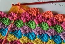 Crochet stitches / by Kris