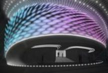 Astana 2017 - World Expo / Exterior Lighting