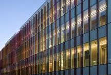 Oxford University Biochemistry Department. Oxford, UK / Exterior and Interior Lighting