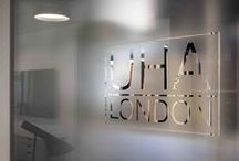 UHA, London UK / Office Interior Lighting Design