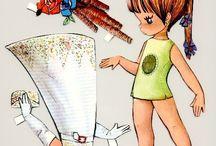 Recortables / Muñecas de papel.