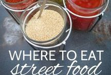 Street Foods - No Time to Sit / Highlighting street food and drinks around the globe.