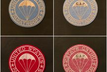 Own made patches / Reproductions of hard to Find WW2 patches, made by Green Army Productions (G.A.P.)